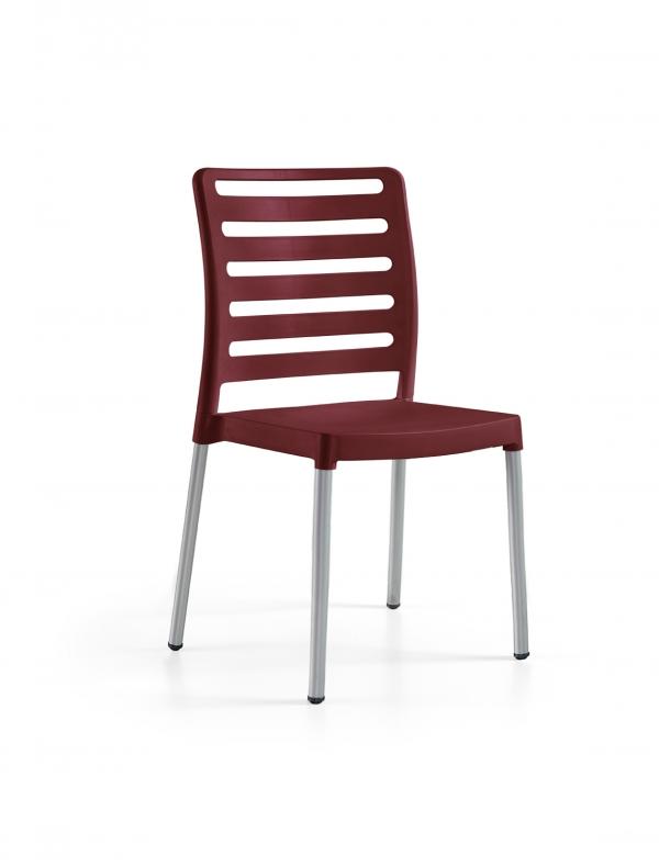 Cadeira Diva, Perna Alumínio