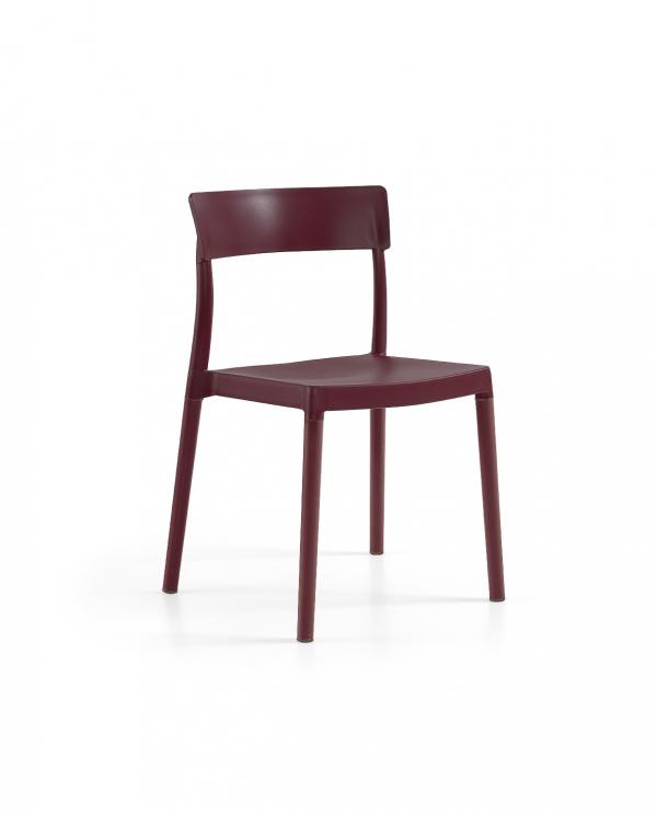 Cadeira Lilly, Perna Plástica